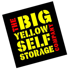 The Big Yellow Self Storage Company Logo BROS sponsor