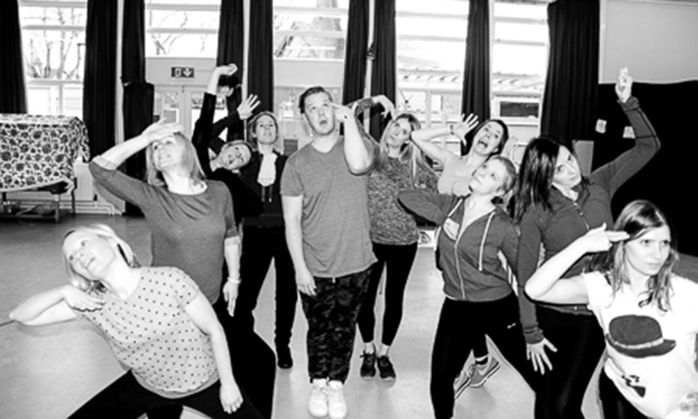 Rehearsal diary: Dirty Rotten Scoundrels