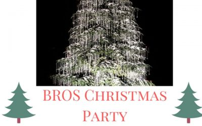 Get your tickets for the BROS Christmas Party now!