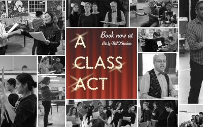 A Class Act – come and support this singularly sensational show!