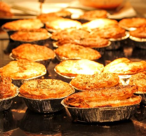 Quick news….sadly next week's Pie&Mash night has been cancelled.